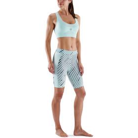 Skins Series-5 Half Tights Women, azul